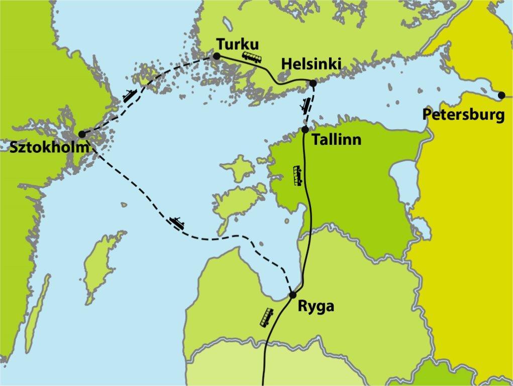 Wycieczka do Rygi, Tallinna